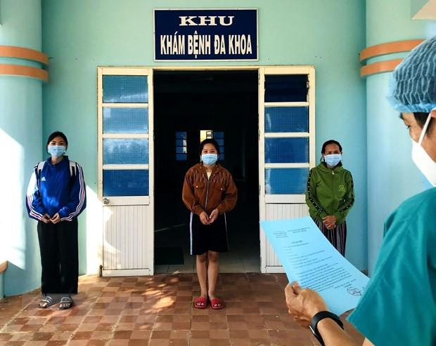 Quang Ngai: Ba benh nhan mac COVID-19 duoc cong bo khoi benh hinh anh 1