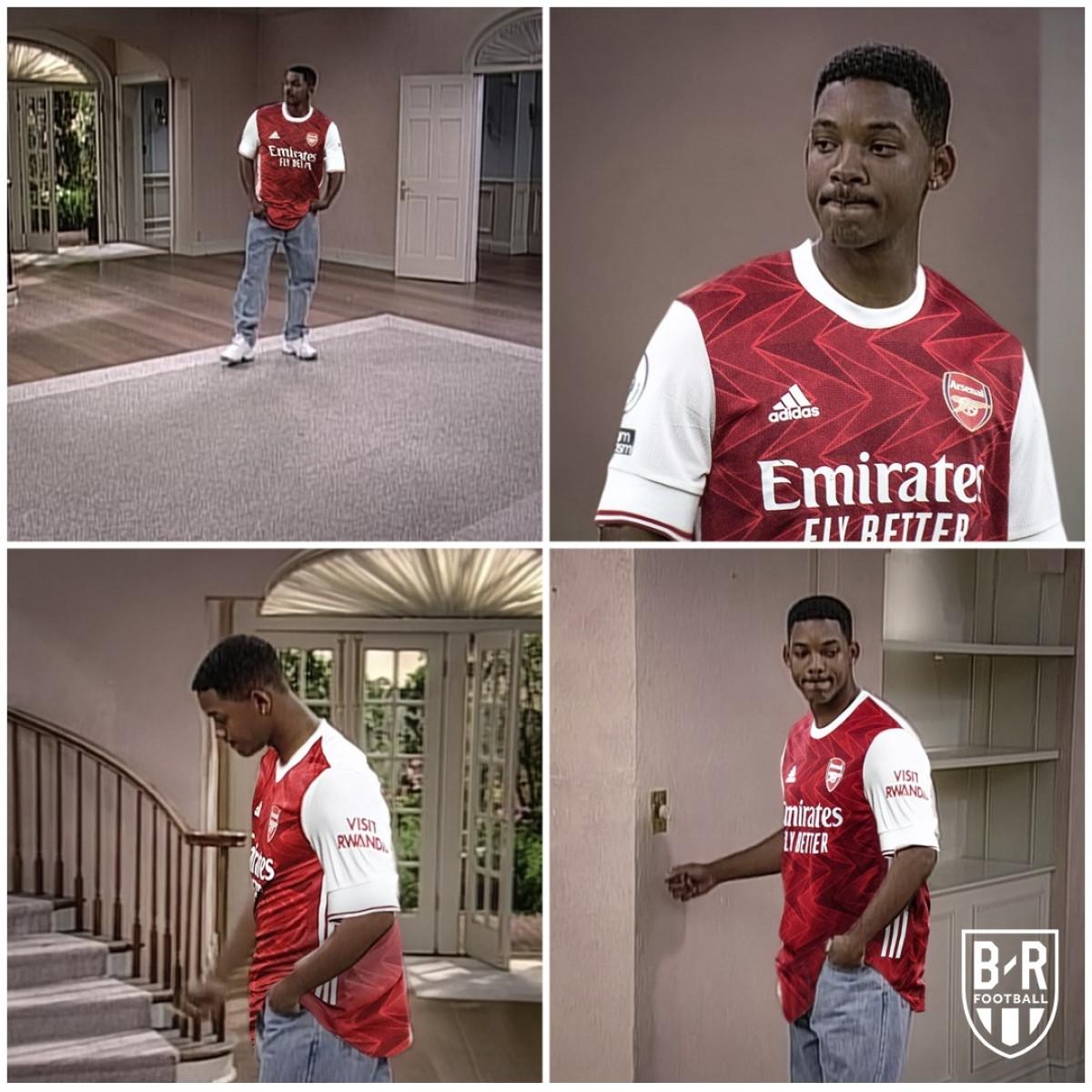 CĐV Arsenal chán nản khi chứng kiến đội nhà thua trận. (Ảnh: Bleacher Report).