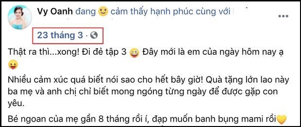 Vy Oanh nói gì khi bị bóc mang thai 12 tháng mới đẻ?-3