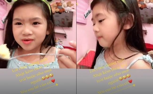Con gái Mai Phương nói câu xúc động ngày sinh nhật bảo mẫu-1