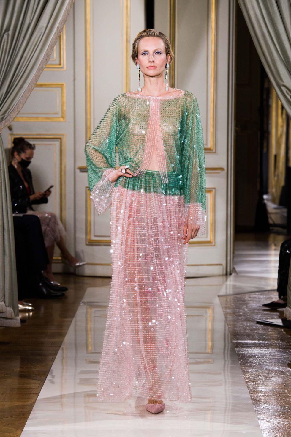 Nhưng xu hướng lớn nhất trong tuần lễ thời trang xa xỉ Haute couture Paris - 8