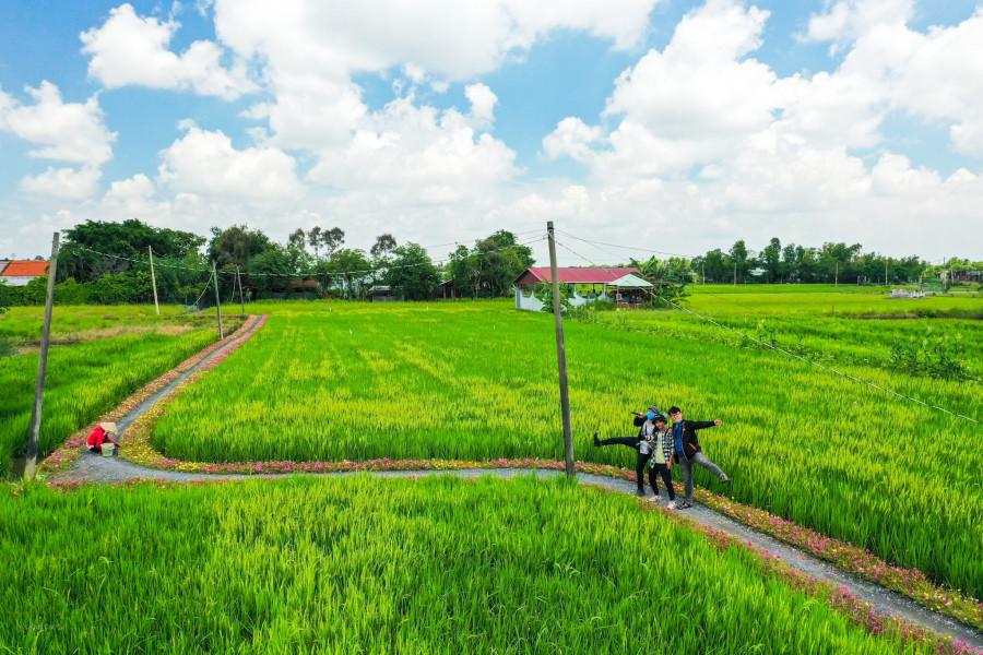 Con đường hoa mười giờ ở vùng ngoại ô Sài Gòn - 10