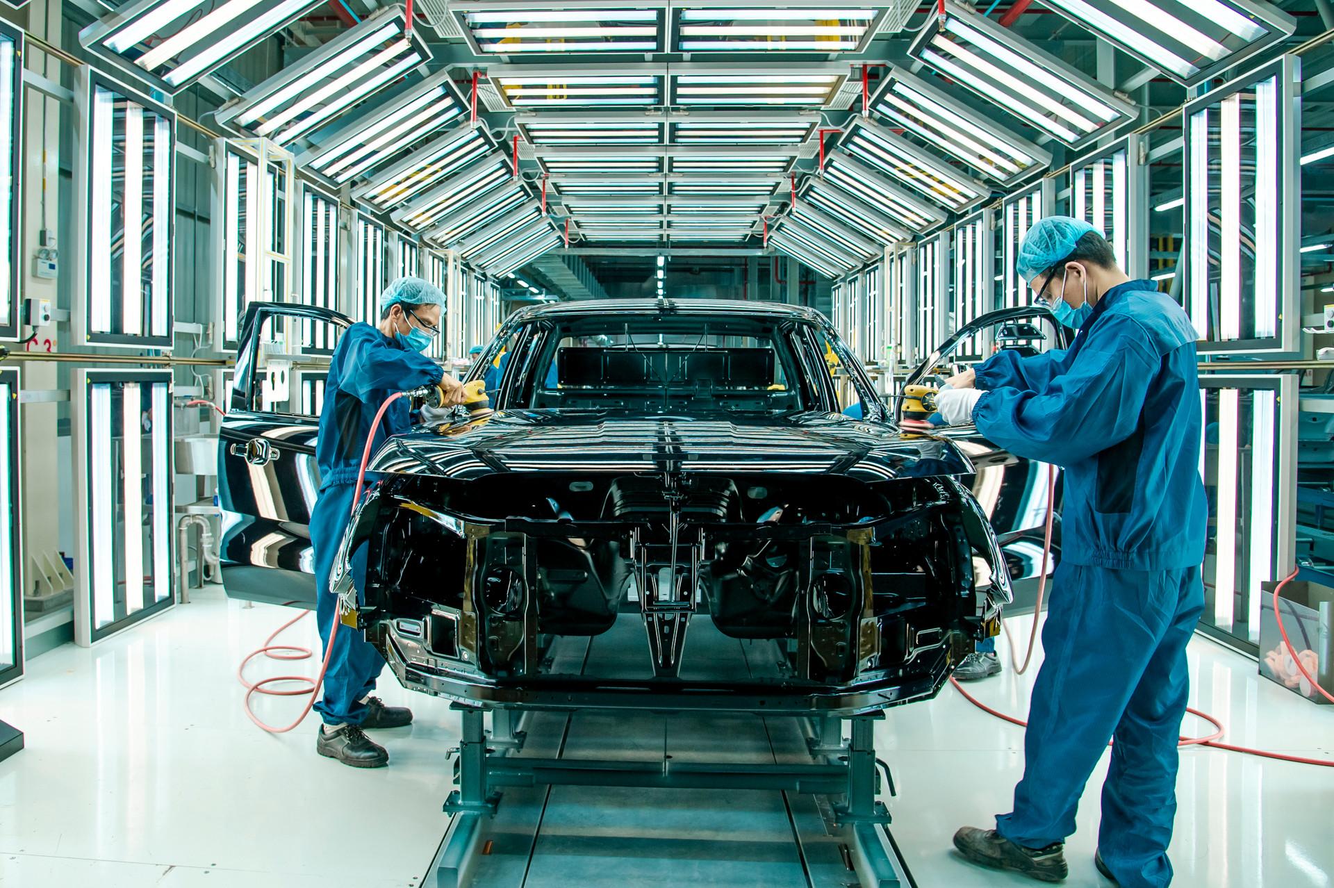 Hệ thống kiểm tra xe mới tại nhà máy Ford Hải Dương