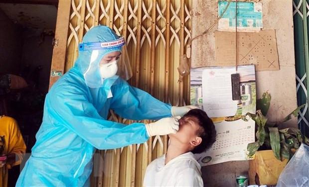 Nghe An: 'Chat dut' nguon lay SARS-CoV-2 tai ban vung cao Cham Puong hinh anh 1
