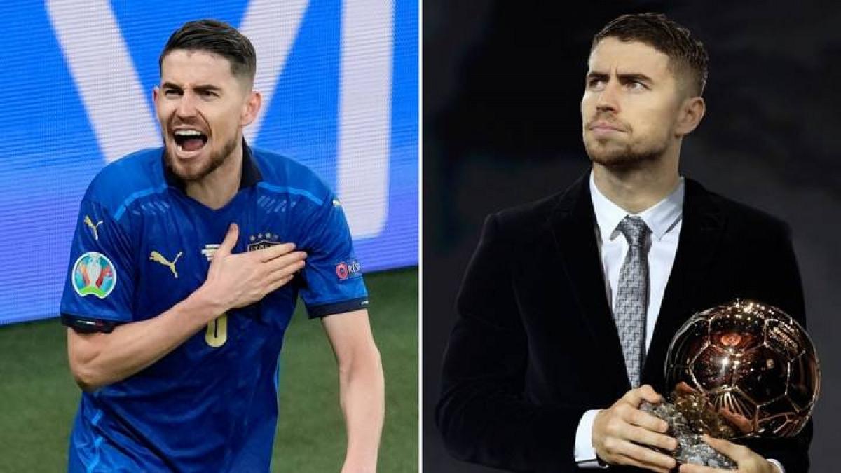 Jorginho mơ giành Quả bóng vàng 2021. (Ảnh: Sportbibble)