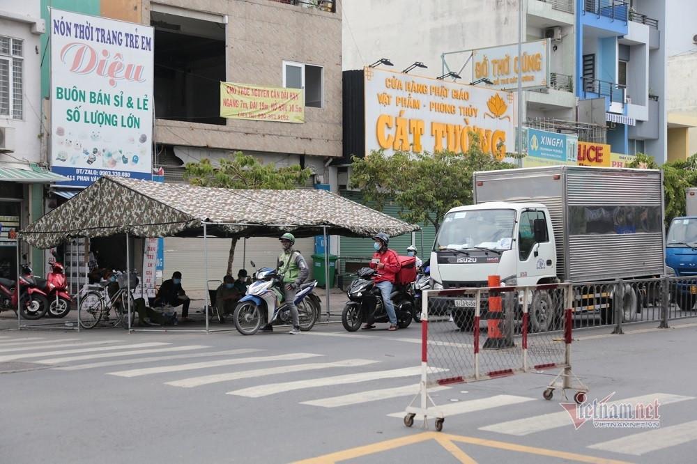 TP.HCM khởi động các chốt kiểm soát, dừng xe ngẫu nhiên người đi đường