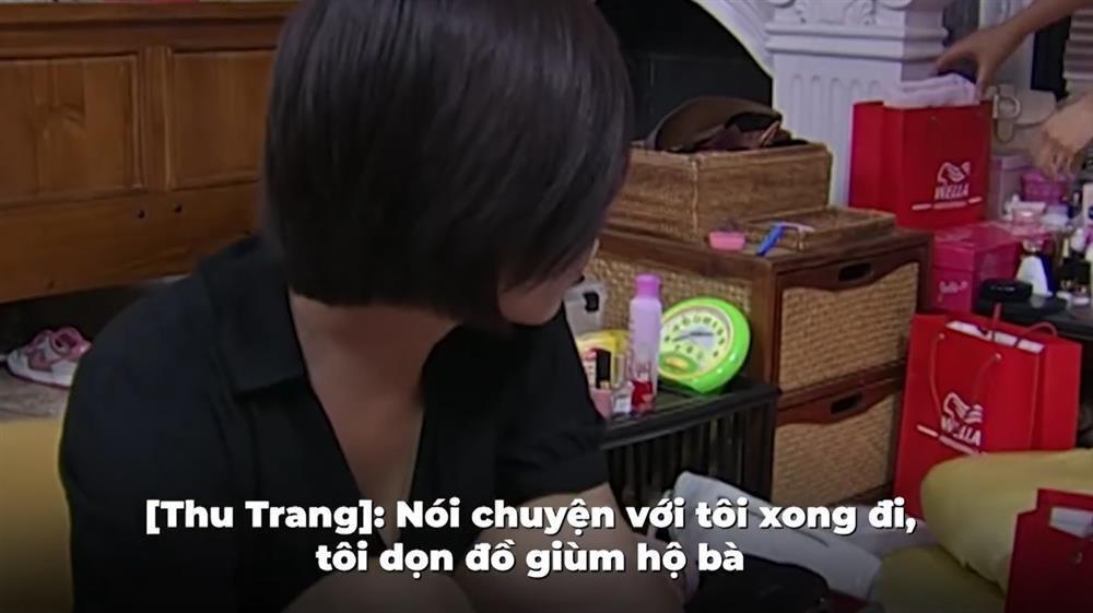 Vợ Cường Đô La bị đào clip to tiếng, giật vali đồng nghiệp-3