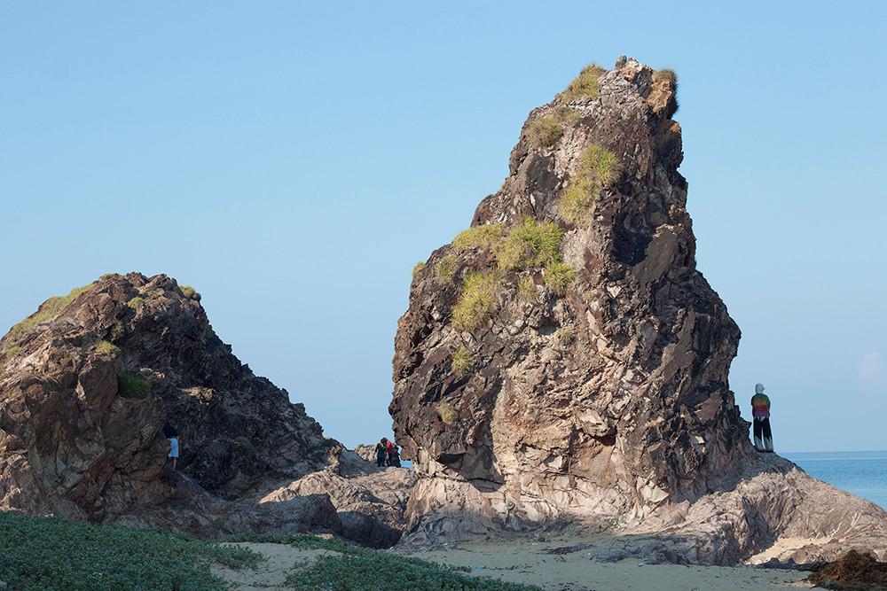 Ấn tượng gành đá Lộ Diêu với nhiều khối đá hình thù kỳ lạ - 10
