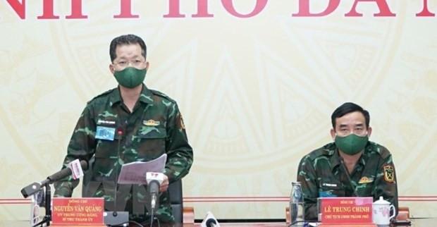 Da Nang xet nghiem rong, Vinh Phuc kiem soat chat nguoi vao tinh hinh anh 1