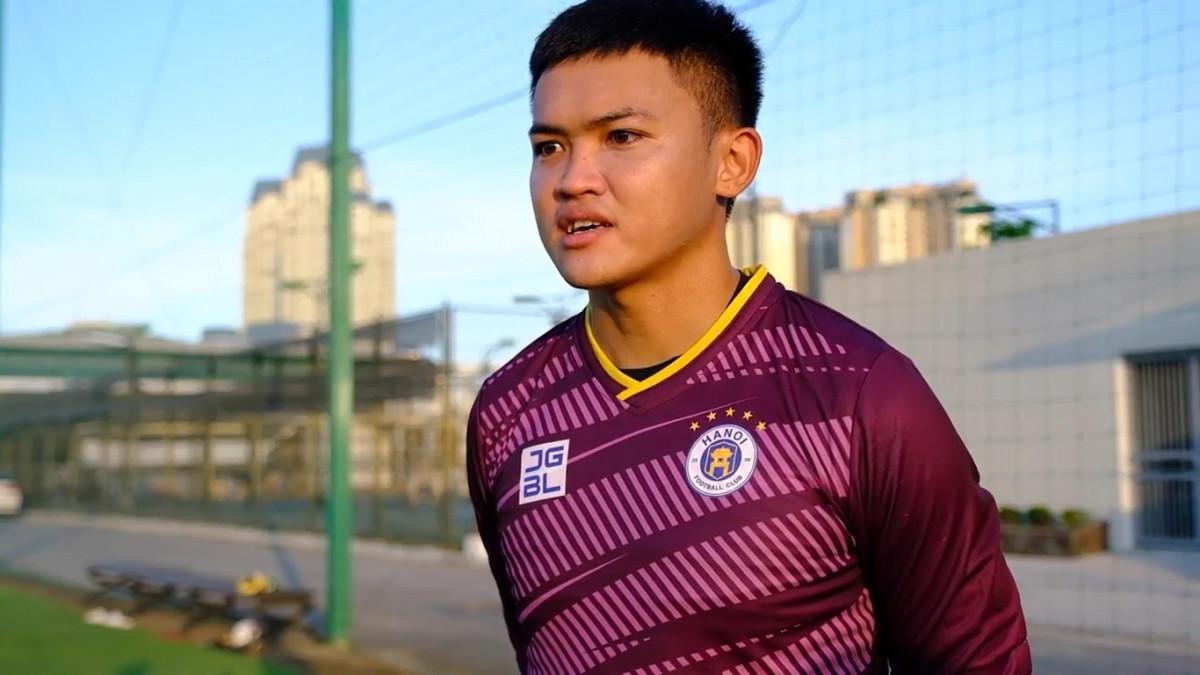 Nguyễn Ngọc Bin thi đấu cho Hà Nội FC theo hợp đồng cho mượn tới hết mùa giải.