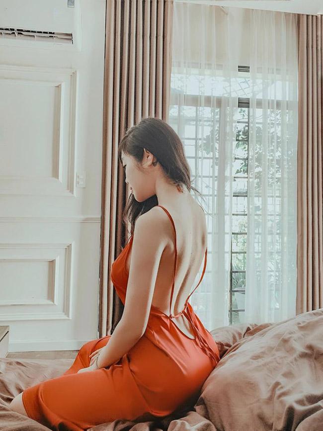Hà Tăng, Trâm Anh chuộng váy kín trước hở sau khoe võng lưng siêu nuột-11
