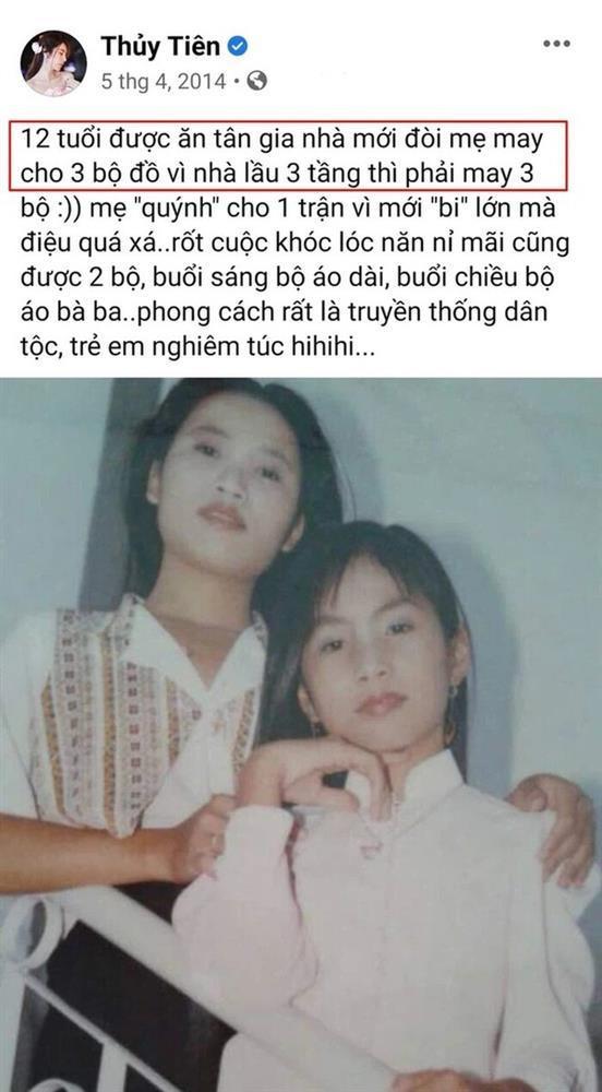Thuỷ Tiên khoe 12 tuổi có nhà 3 tầng nhưng lên truyền hình kể tuổi thơ khó khăn?-2