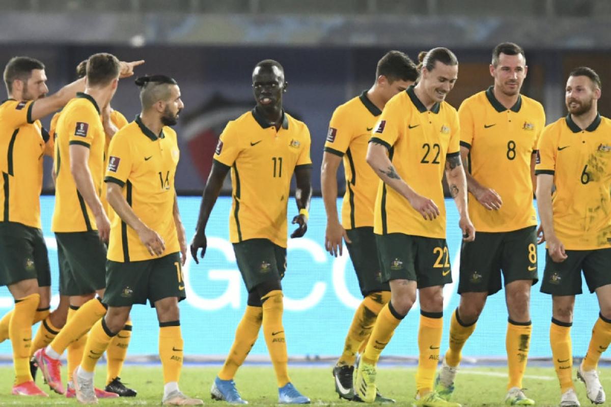 Những quy định nghiêm ngặt về phòng, chống Covid-19 của Chính phủ Australia khiến đội tuyển bóng đá nước này khó có thể đá vòng loại World Cup 2022 trên sân nhà. (Ảnh: AP).