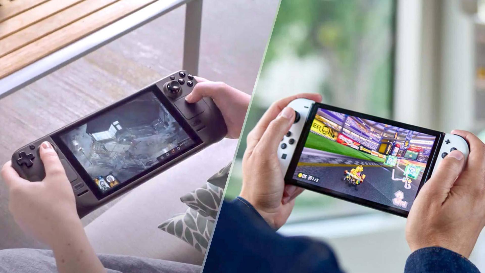So sánh Valve Steam Deck, Nintendo Switch, Microsoft Xbox Series S/X và Sony PlayStation 5