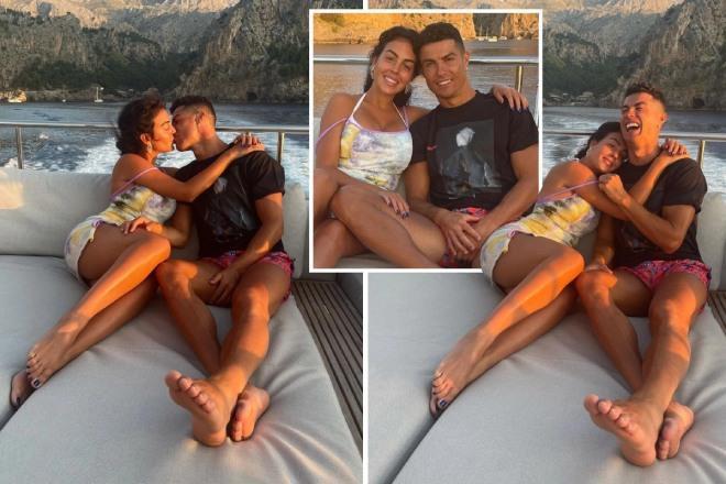 Bạn gái Ronaldo quên mặc quần, tạo dáng gợi cảm như tiên cá-7