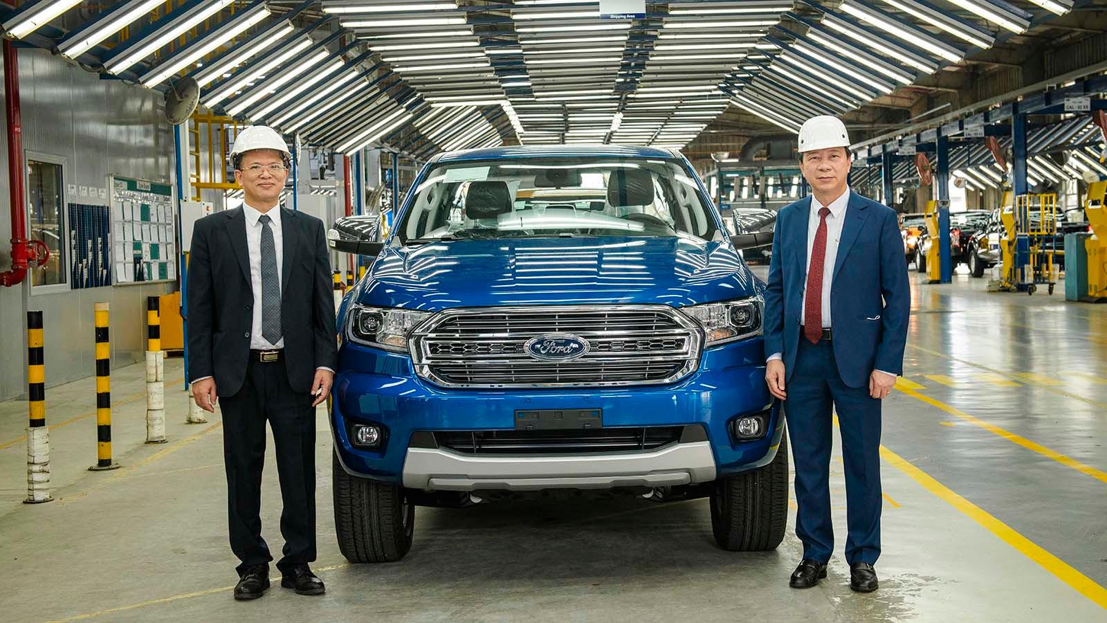 Dây chuyền sản xuất Ford Ranger