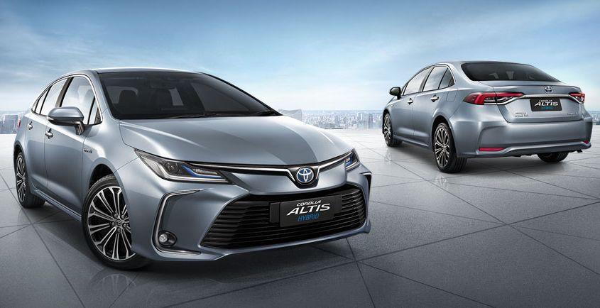 Trang bị của Toyota Corolla Altis 2021