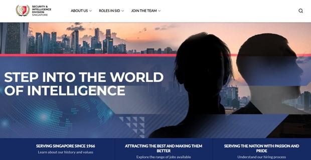 Singapore lan dau ra mat trang web cua co quan tinh bao doi ngoai hinh anh 1