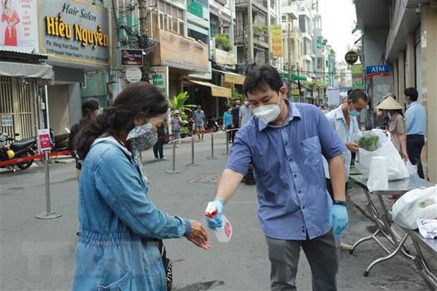 Ngay 19/7, so ca mac moi COVID-19 giam manh o Thanh pho Ho Chi Minh hinh anh 1