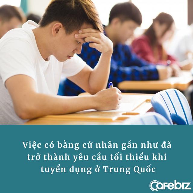 Nhà máy gây sốc vì tuyển 135 công nhân mới thì 1/3 là thạc sĩ, còn lại đều tốt nghiệp đại học danh giá của Trung Quốc - Ảnh 3.