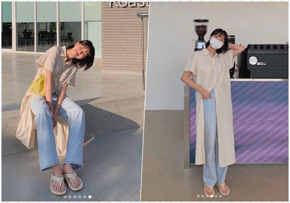 Mix quần jeans với váy dài lạc quẻ: Jessica vẫn đỉnh cao - Ngọc Trinh chán hẳn-8