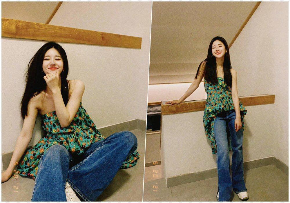 Mix quần jeans với váy dài lạc quẻ: Jessica vẫn đỉnh cao - Ngọc Trinh chán hẳn-4