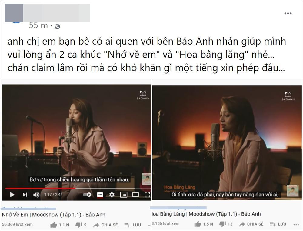 Phía Jimmii Nguyễn tố Bảo Anh cover công khai mà không lời xin phép-1