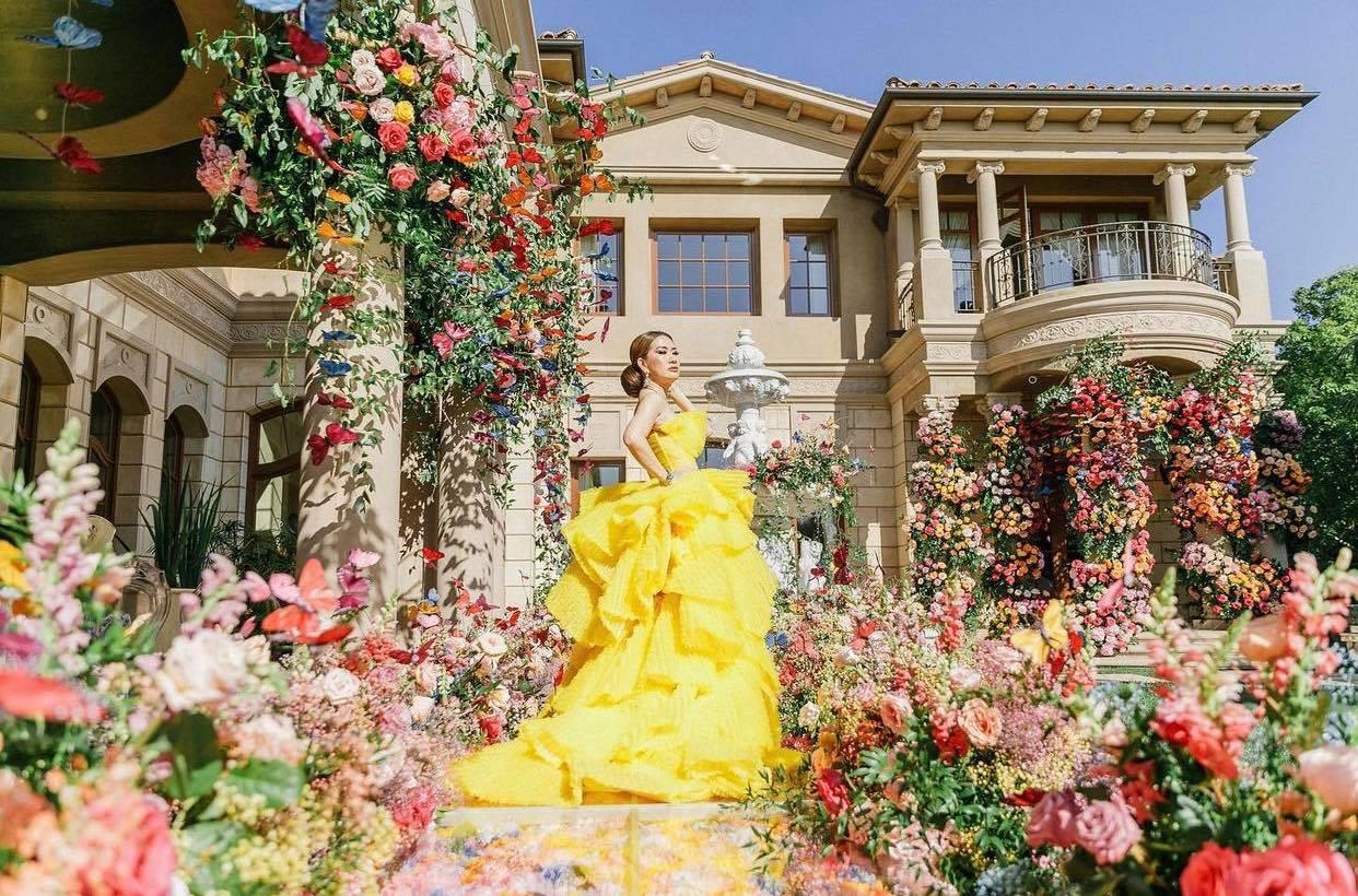 Gu mặc xa xỉ của nữ tỷ phú gốc Việt sở hữu lâu đài 800 tỷ đồng - 3