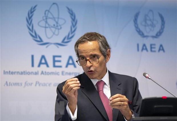 IAEA phan ung ve viec tam dung dam phan thoa thuan hat nhan Iran hinh anh 1