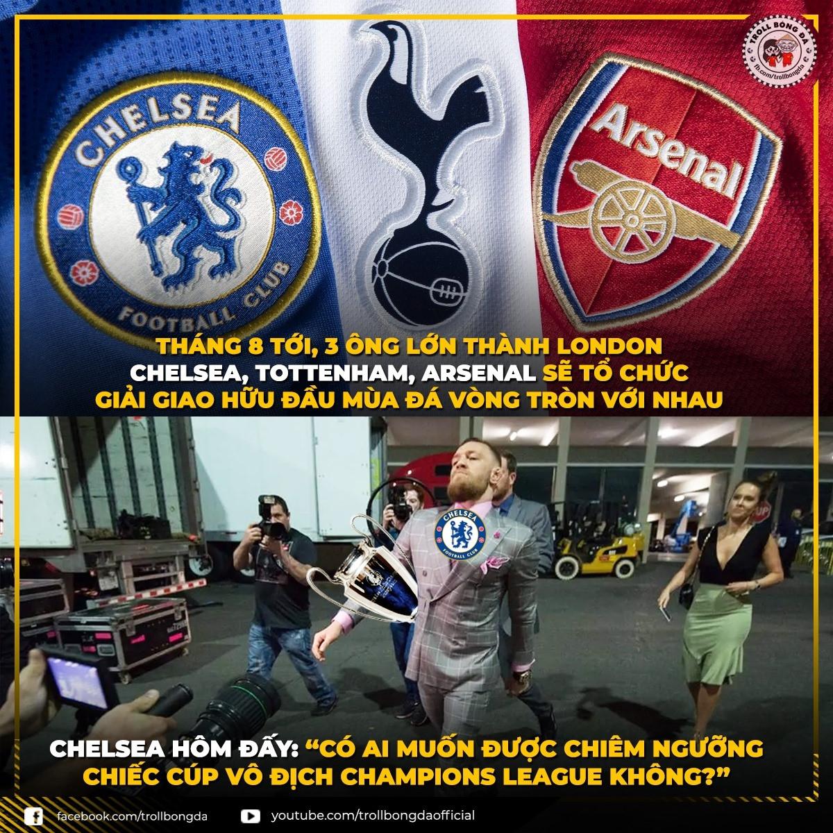 Chelsea được dịp