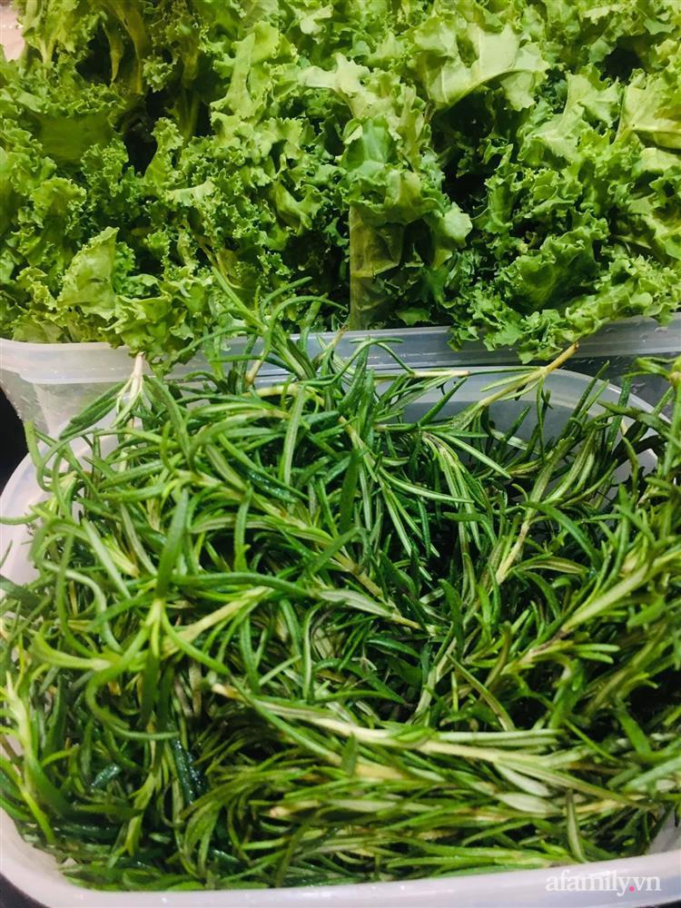 Mẹ Sài Gòn chia sẻ mẹo bảo quản 1 tuần đối với rau xanh để ít phải ra ngoài đi chợ-4