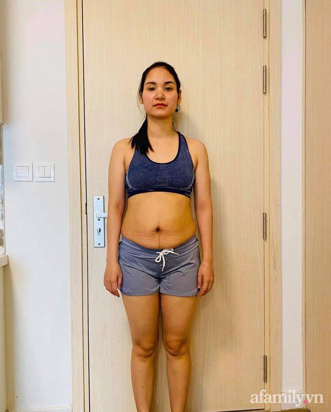 Giấu chồng đi đánh mỡ bụng, uống thuốc giảm cân vẫn thất bại, mẹ trẻ giảm liền 10kg trong 3 tháng nhờ ăn kiểu này-1