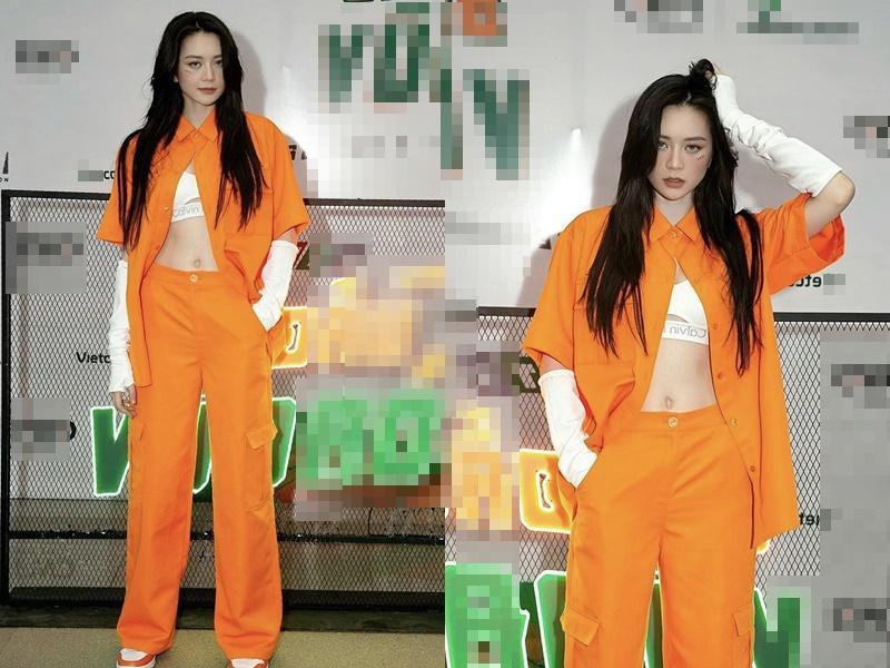 Phối trang phục sắc cam sang chảnh ngày hè như Hà Hồ, Ngô Thanh Vân-9