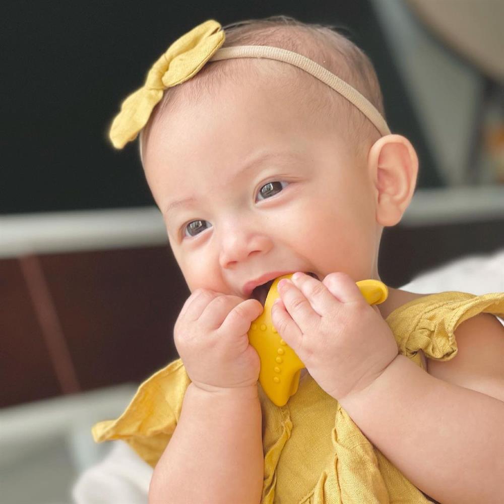 Tan chảy nụ cười hoa hậu của con gái Hồ Ngọc Hà-2
