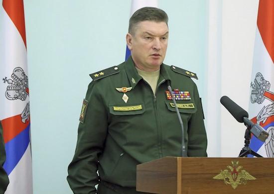 Tư lệnh Quân khu Trung tâm của Nga. (Nguồn: Bộ Quốc phòng Nga)