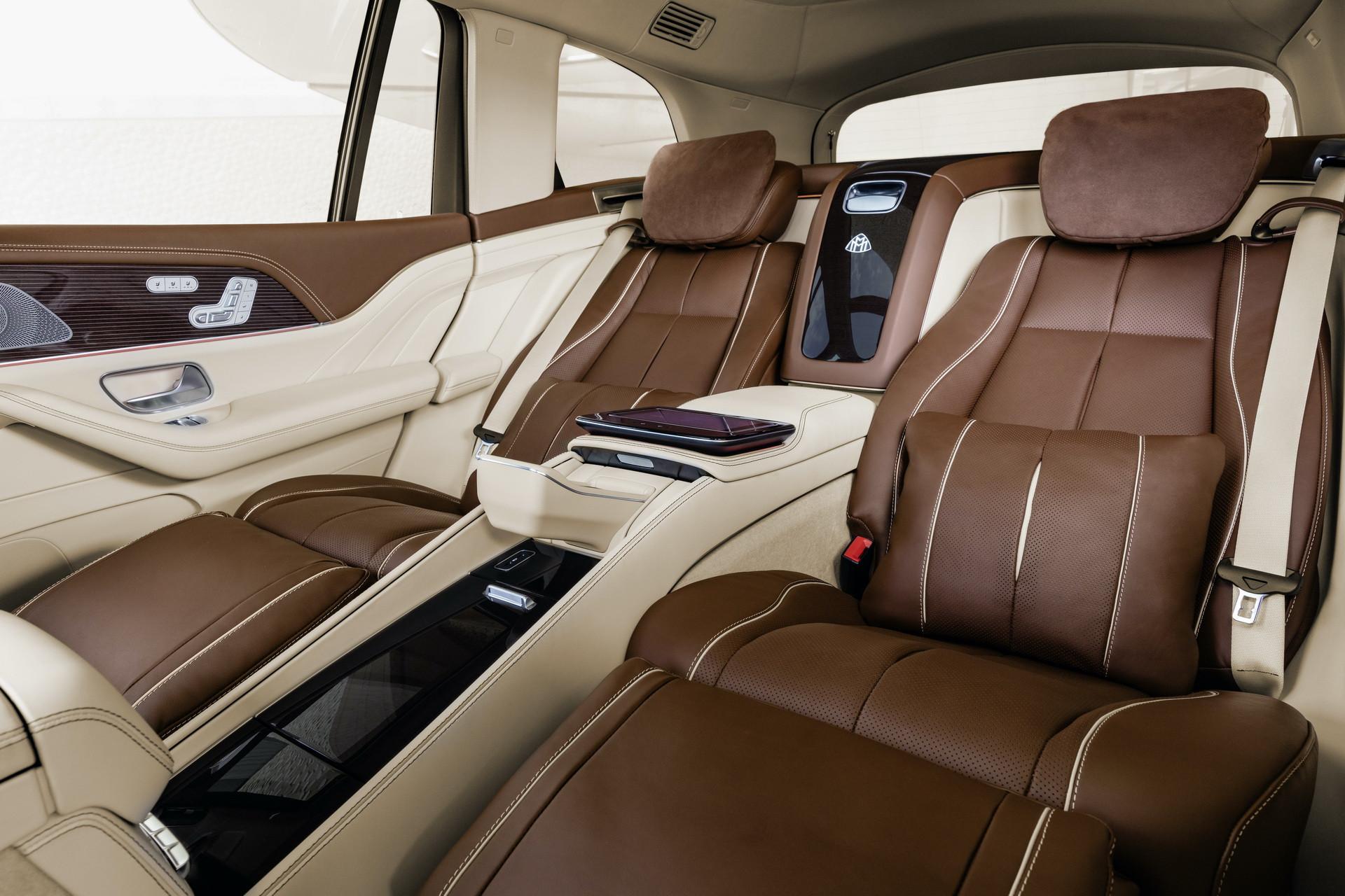 Hàng ghế thương gia của Mercedes-Maybach GLS 600 4MATIC