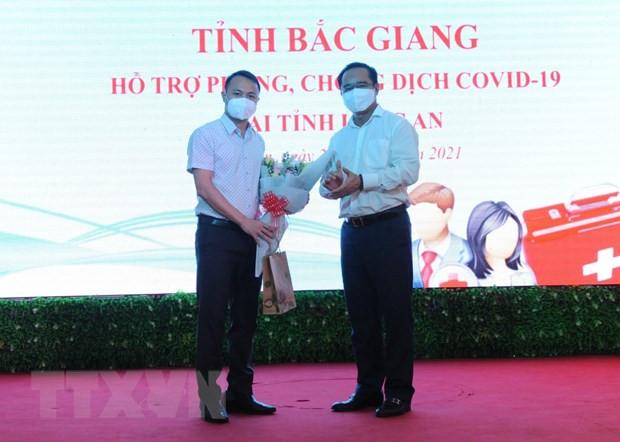 Hon 100 can bo y te Bac Giang, Hoa Binh ho tro cac tinh phia Nam hinh anh 1