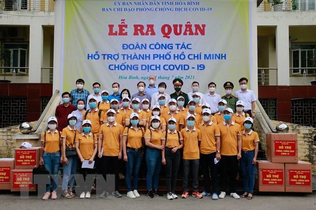 Hon 100 can bo y te Bac Giang, Hoa Binh ho tro cac tinh phia Nam hinh anh 2