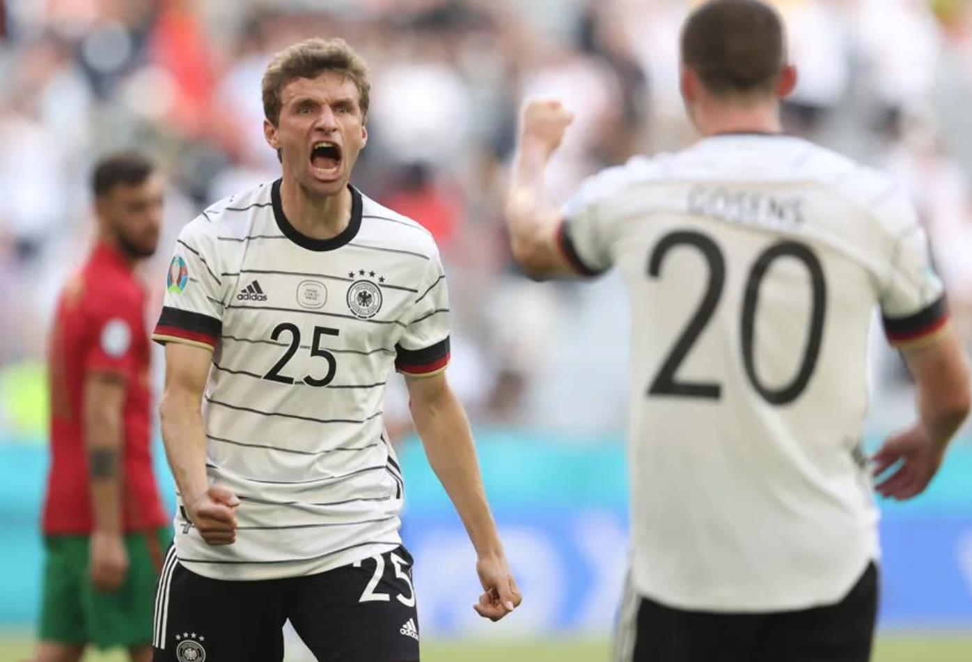 Đội tuyển Đức đè bẹp Bồ Đào Nha: Cỗ máy chiến thắng trở lại - 3