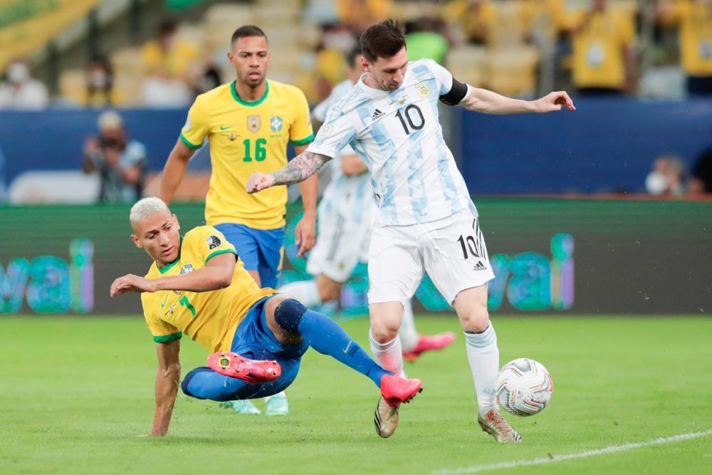 Trực tiếp bóng đá Brazil vs Argentina chung kết Copa America 2021 - 6