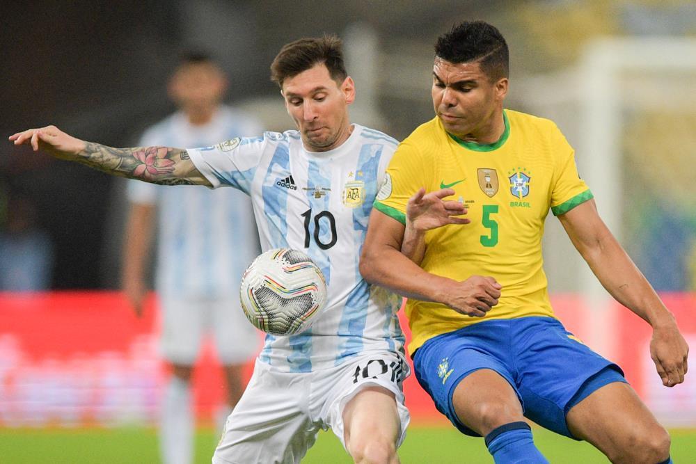 Trực tiếp bóng đá Brazil vs Argentina chung kết Copa America 2021 - 2