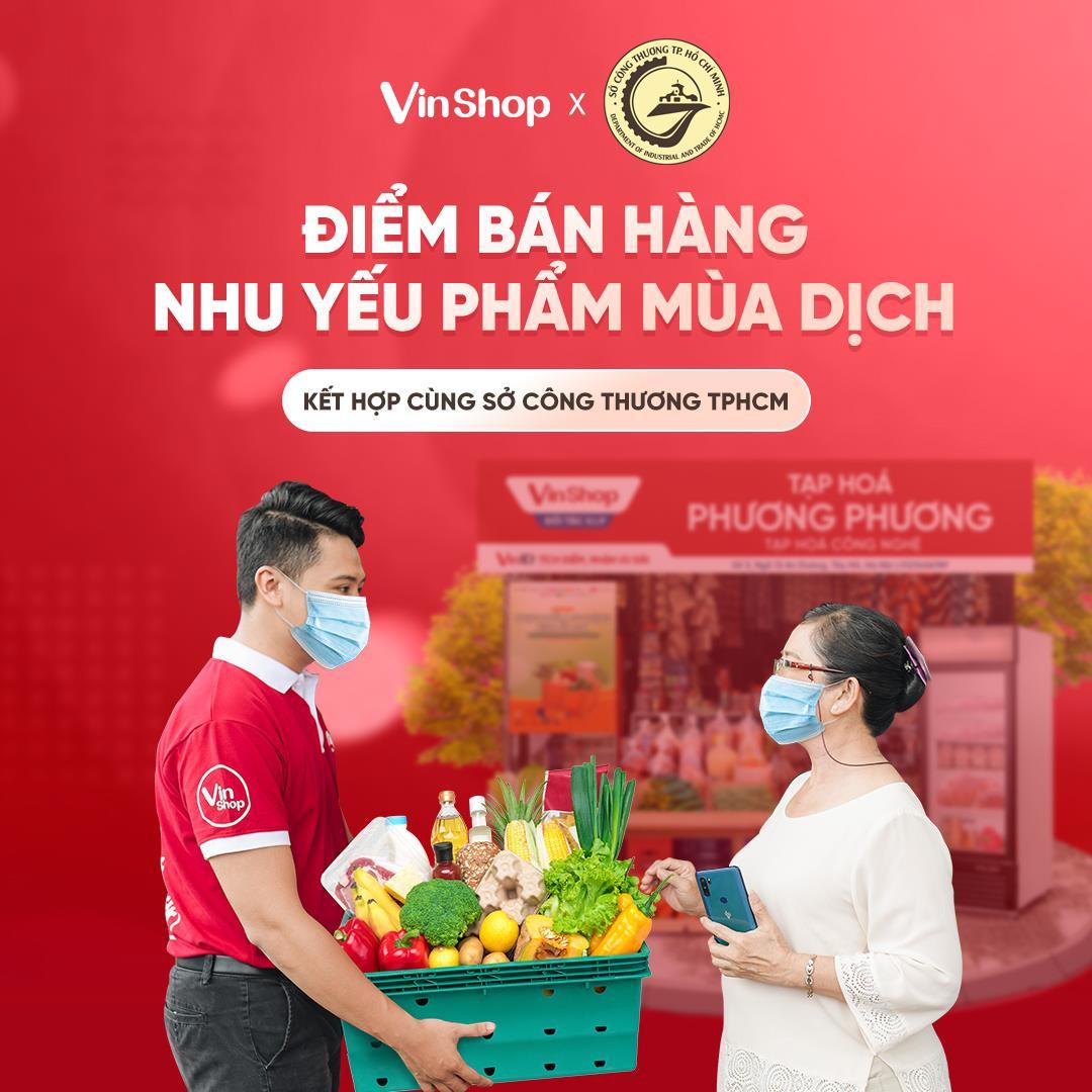 VinShop, VinID góp sức đưa nhu yếu phẩm đến tay người dân TP.HCM giữa tâm dịch - 1