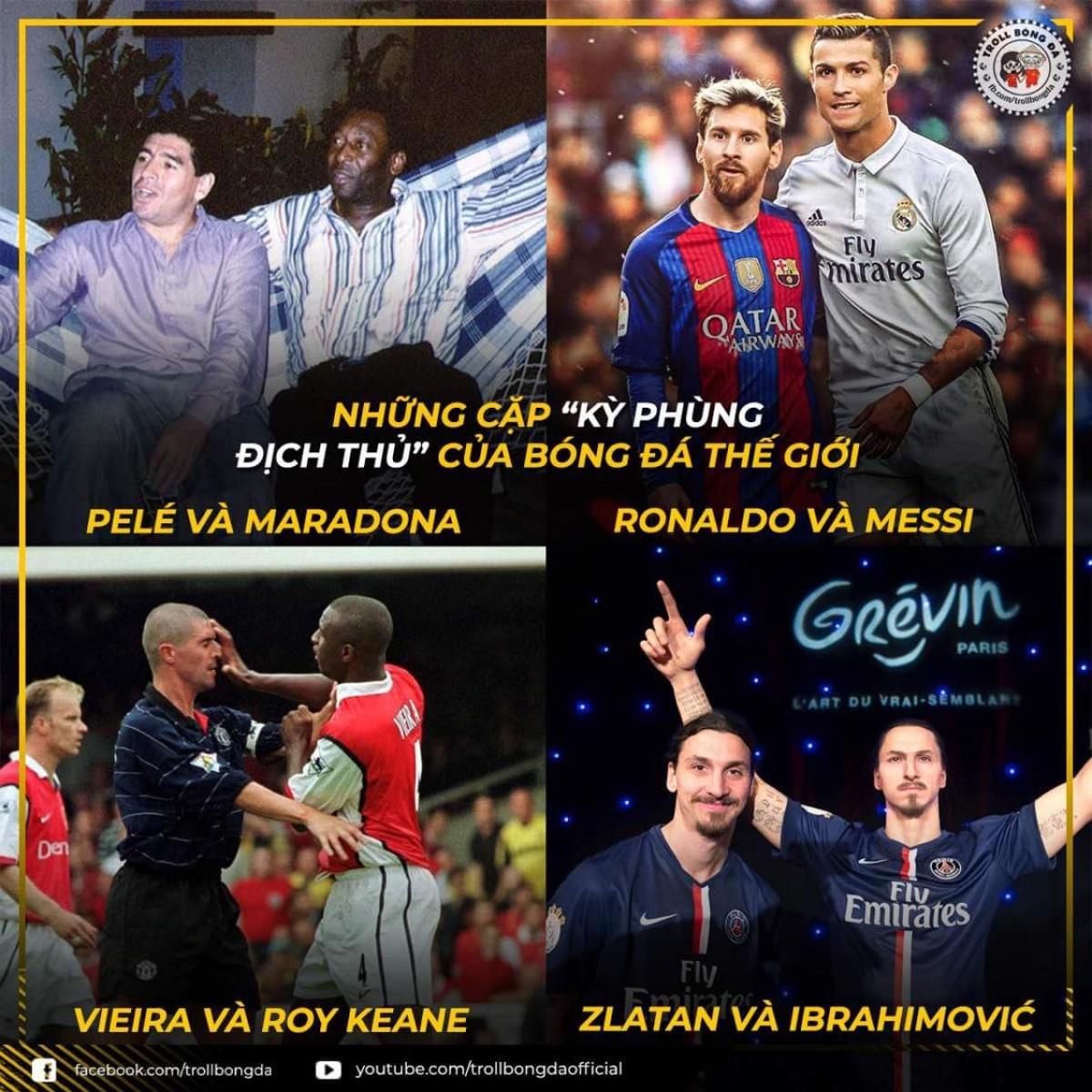 Chỉ có thể là Zlatan Ibrahimovic. (Ảnh: Troll Bóng Đá)