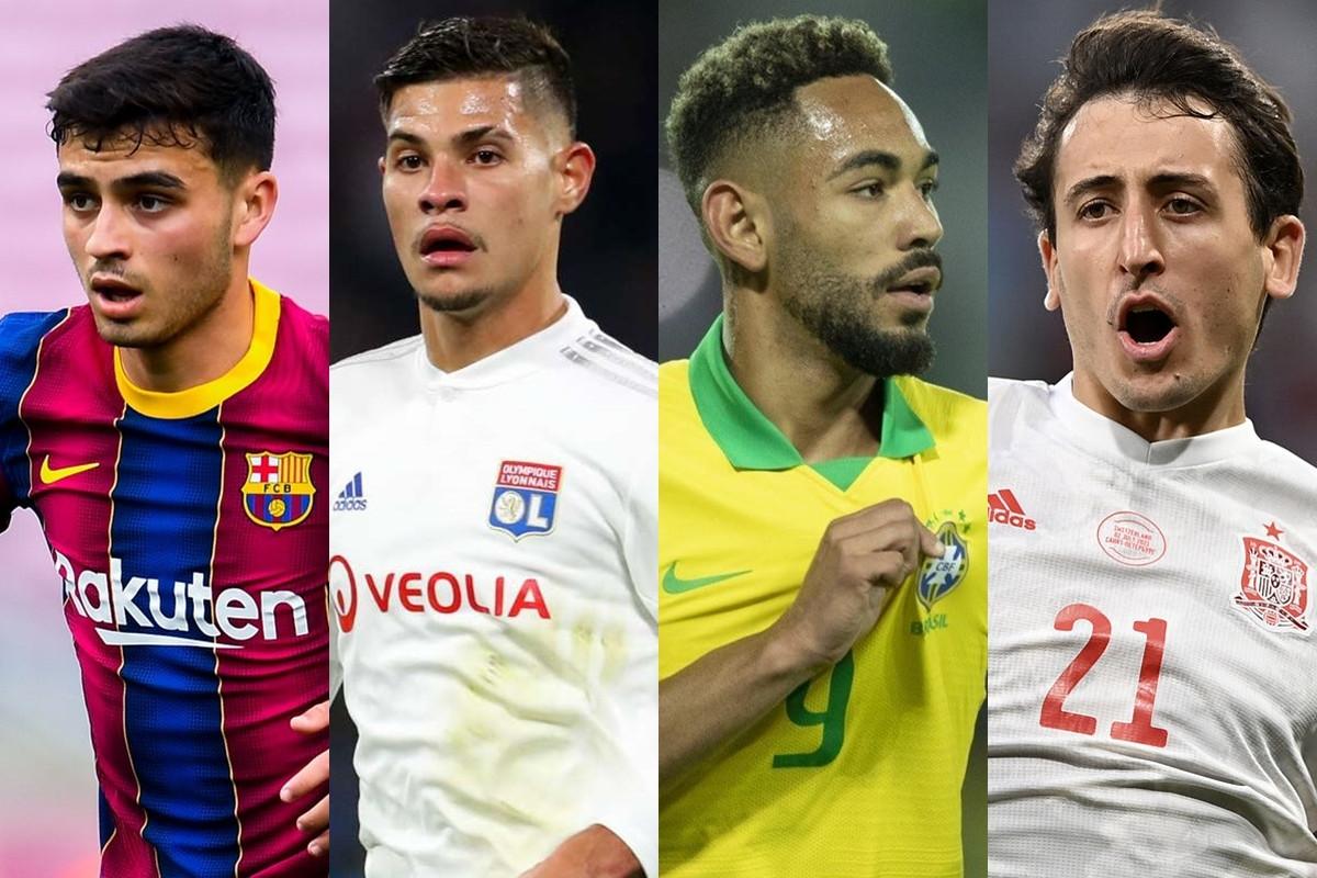 Top 10 cầu thủ đắt giá nhất tham dự môn bóng đá nam Olympic Tokyo gồm: