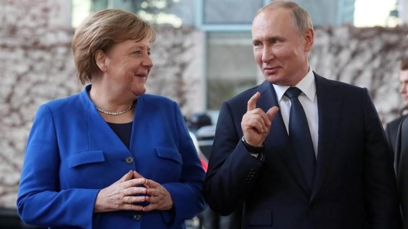 Thủ tướng Đức điện đàm với Tổng thống Nga vài tiếng trước đột phá Mỹ-Đức, cùng hài lòng? (Nguồn: EPA-EFE)