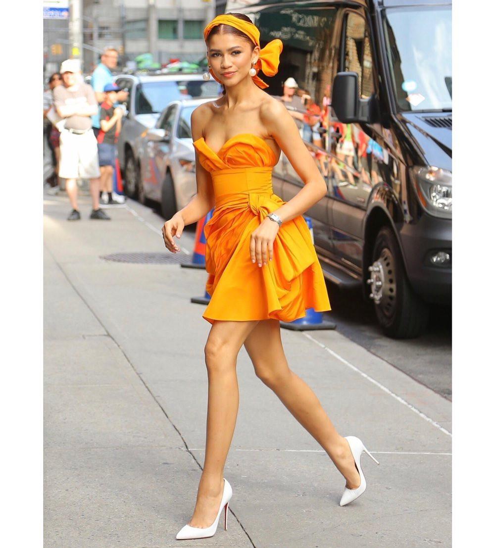 It girl Zendaya chứng minh Color blocking là xu hướng mùa hè này - 6