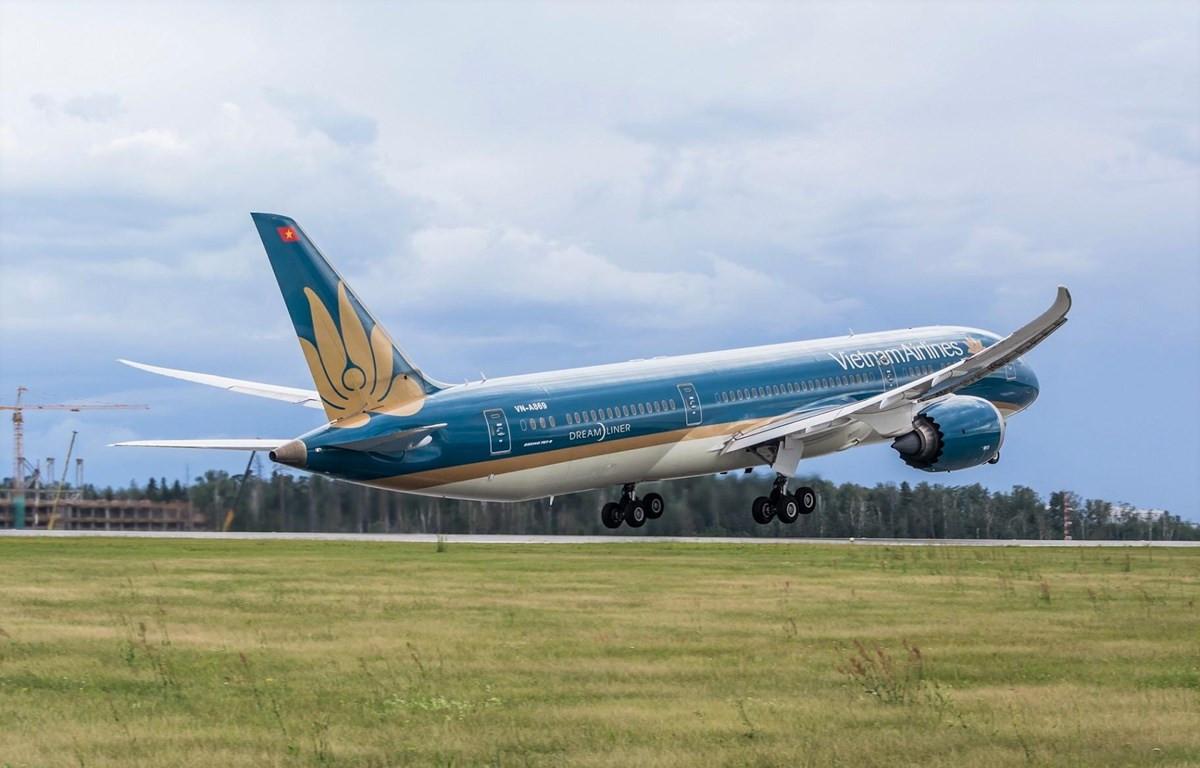 Vietnam Airlines đã nỗ lực tự thân để cắt giảm chi phí và tìm mọi cách để gia tăng doanh thu. (Ảnh: CTV/Vietnam+)