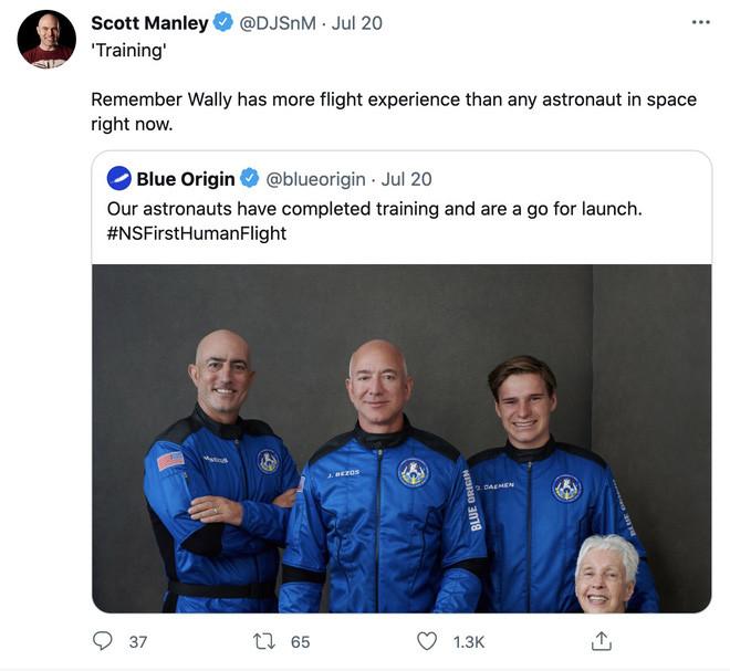 Jeff Bezos đã đi đến rìa của không gian, như vậy ông có phải là phi hành gia không? - Ảnh 2.