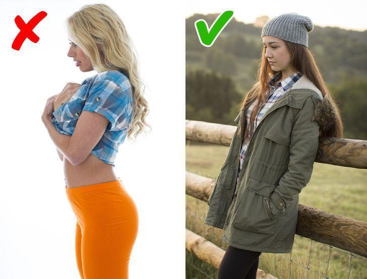 9 sai lầm tai hại khi mặc quần legging - 4