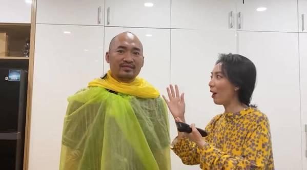 Sao Việt cắt tóc cho chồng mùa dịch: Những cái kết hú hồn-3